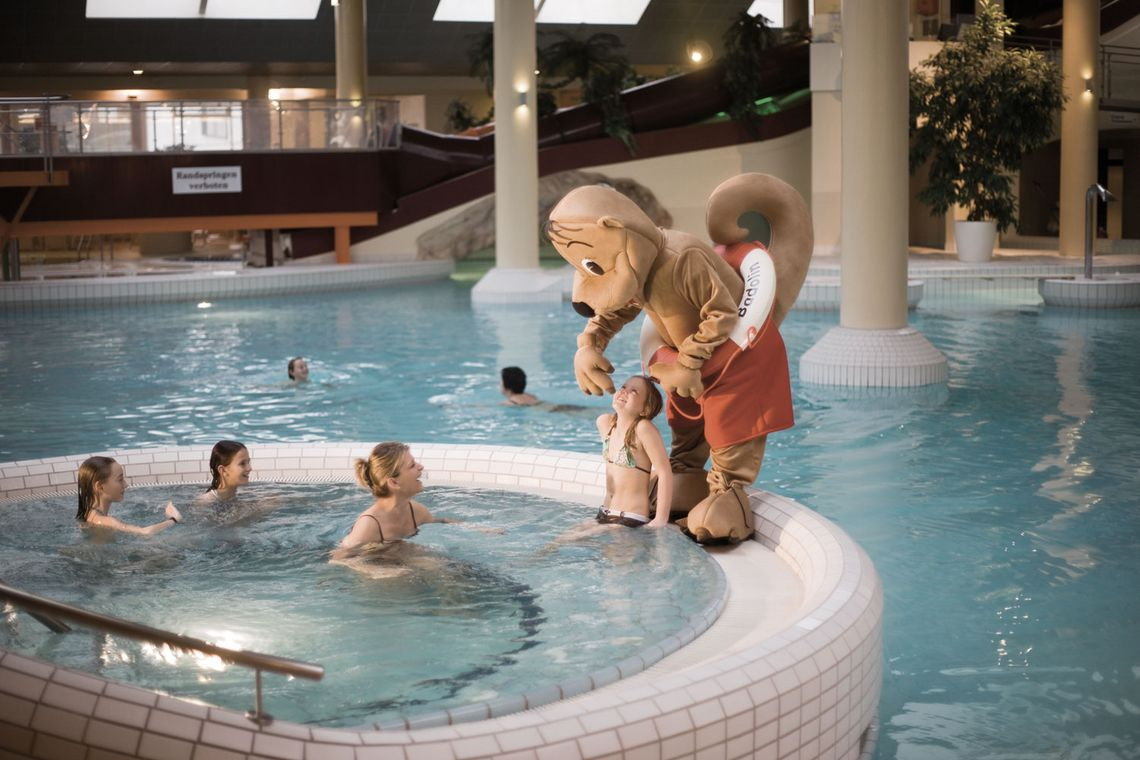 Badolin am Whirlpool in der Reiters Therme Stegersbach