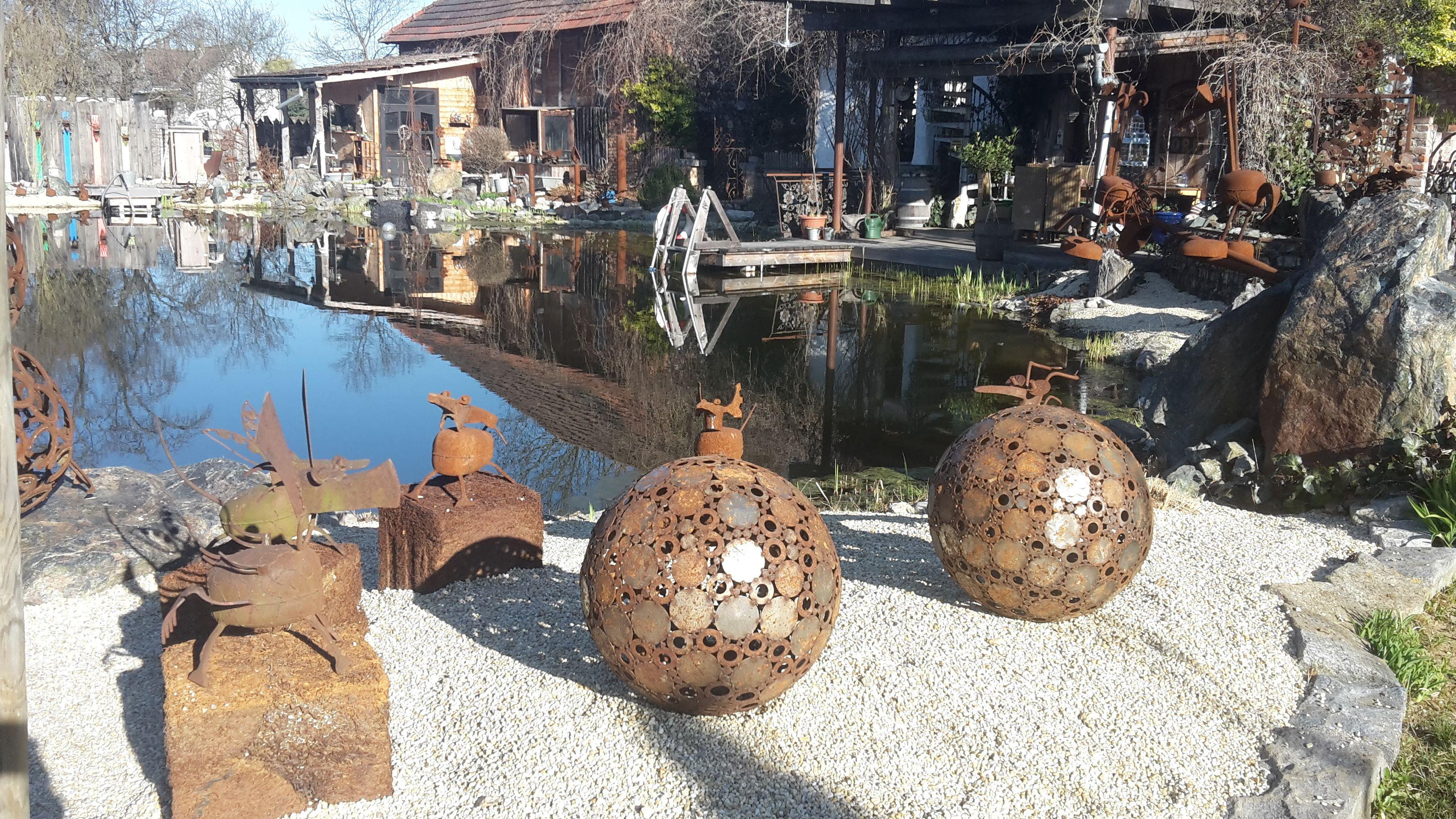 Gartengestaltung der etwas anderen Art in Rauchwart im Südburgenland