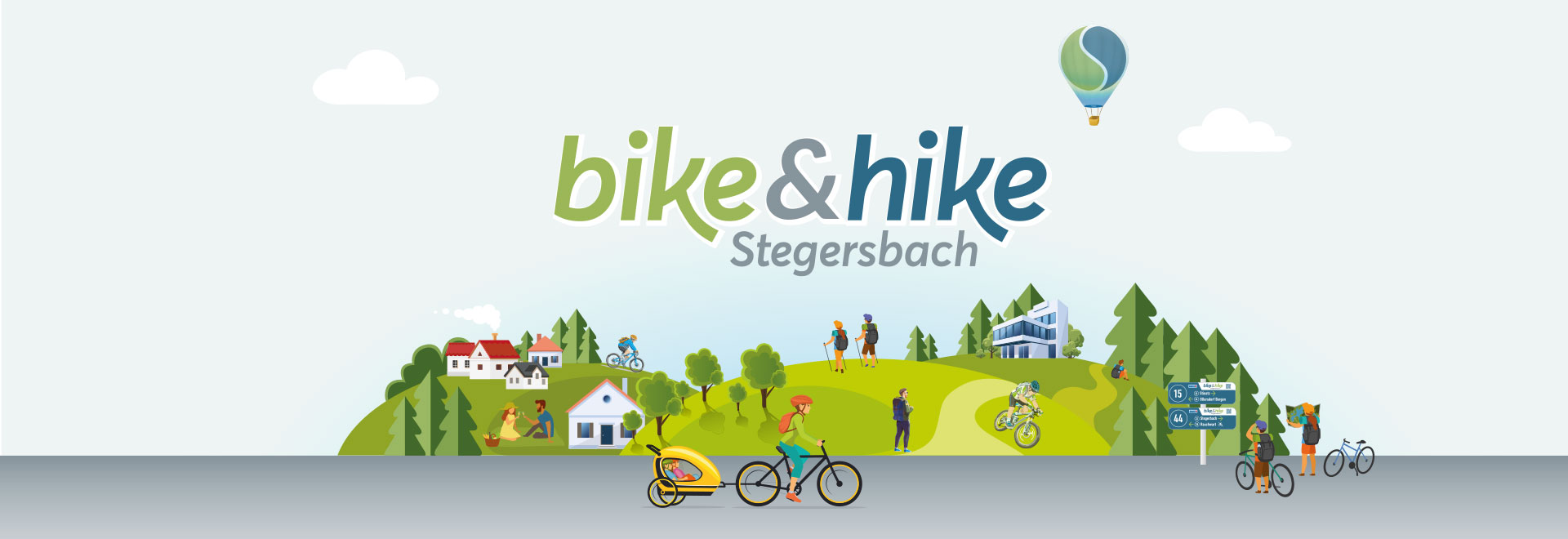 Bike & Hike Banner